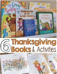 6 Thanksgiving Books & Activities for Little Readers - Mrs. Jones' Creation Station