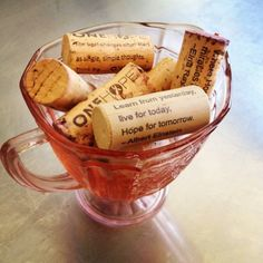 Bowl of Cork Quotes #Hope #quotes #wine #ONEHOPE