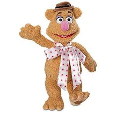Disney Fozzie Bear Plush - The Muppets - 15'' | Disney StoreFozzie Bear Plush - The Muppets - 15'' - It's no joke that this comedy legend enjoys plenty of hugs! Our soft and fuzzy Fozzie Bear plush fully captures the charm of Kermit's punny pal, including his distinctive hat and silky bow tie.