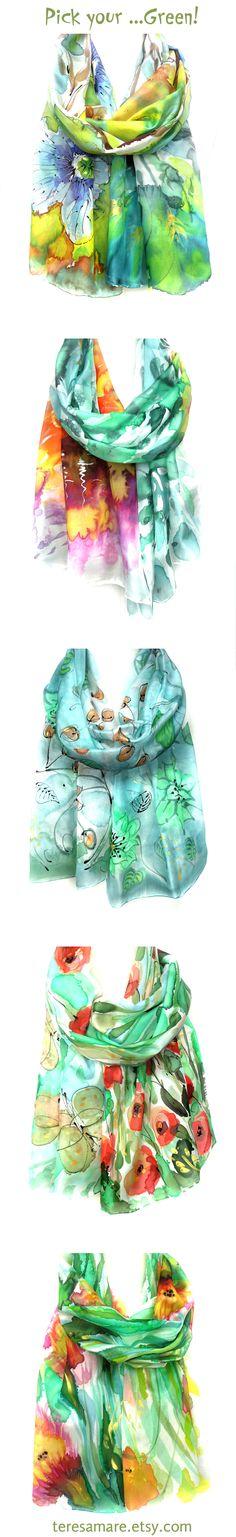 ....love green www.teresamare.etsy.com