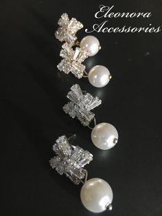 Instagram: eleonora_accessoriez Women Accessories, Fashion Accessories, Pearl Earrings, Pearls, Womens Fashion, Instagram, Jewelry, Jewellery Making, Pearl Studs