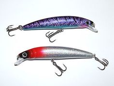 2 x ultra 18g 13cm plug #lures rapala #treble hooks pike bass sea #course fishing,  View more on the LINK: http://www.zeppy.io/product/gb/2/121728950305/