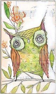 Owl by Cori Dantini