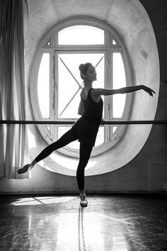 Dorothée Gilbert. Photo by James Bort at Opéra Garnier.
