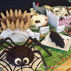 halloween party food ideas when-the-leaves-change