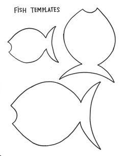 fish template preschool