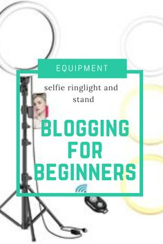 Selfie Ring Light with Tripod Stand & Cell Phone Holder Make Money From Home, How To Make Money, Cell Phone Holder, Blogging For Beginners, Video Photography, Affiliate Marketing, No Worries, About Me Blog, Selfie