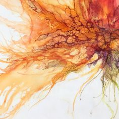 551 Likes, 8 Comments - Alicia Tormey Abstract Watercolor, Watercolor Paintings, Abstract Art, Art Paintings, Epoxy Resin Art, Encaustic Art, Alcohol Ink Art, Art Lessons, Flower Art