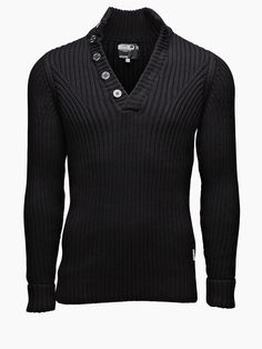 Christiano Knit, BLACK