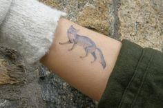 ahhh fox tattoo <3
