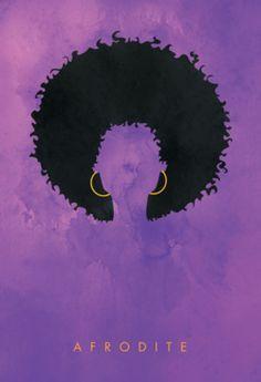 black power girl paint - Pesquisa Google