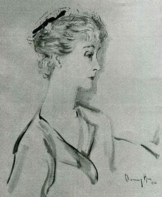 mme Jacques Balsan  --  former duchess of Marlborough (née Consuelo Vanderbilt).  --  by Hare.