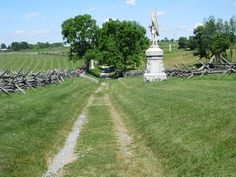 One of the most impressive areas of the battlefield is an area called Sunken Road or Bloody Lane,  Things like gun fire, have been heard. Smoke has been smelled and voices heard in this area.