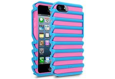 Colorful Pink iLuv Pulse Case for iPhone 5