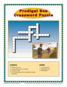 Multiple Bible Crossword Puzzles. Click Pin for website. Credits: sundayschoolzone.com