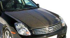 2003-2004 Infiniti G Sedan G35 Carbon Creations OEM Hood - 1 Piece