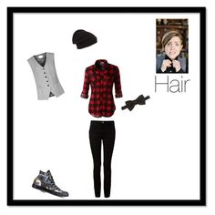 """""""Hannah hart inspired"""" by i-am-a-unitato ❤ liked on Polyvore featuring Reiss, Converse, LE3NO, Alexander Wang, Gucci and Phase 3"""
