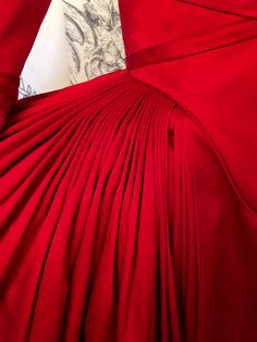THE Red Dress -- the beauty is in the details! Breathtaking!