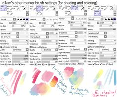 sup! long time no see tumblr! so… i've decided to share my paint tool sai brushes, no i mean marker brush settings. I've seen the trend of copic markers, but I never get to buy any because I can't...