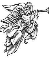 christmas sketch ClipArt | Guardian Angel Tattoo Designs