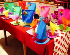 Festa a tema Alice nel paese delle meraviglie Tavolo allestito