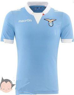 14-15 Lazio Home Blue Soccer Jersey Shirt Ss Lazio ab623f979c571