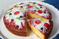 Recipe: Pizza Cake Prank Food Fun Desserts, Delicious Desserts, Dessert Recipes, Yummy Food, No Bake Treats, Yummy Treats, Sweet Treats, Flan, Cheesecakes