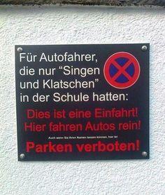 Parken verboten! | Webfail - Fail Bilder und Fail Videos