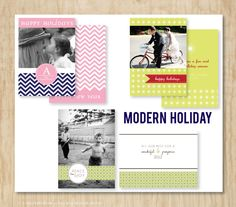 Modern Holiday | set of 3 by Dear Miss Modern