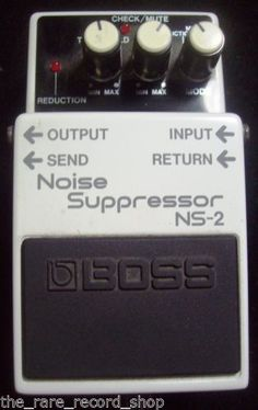 Boss-White-Noise-Suppressor-NS-2-Electric-Guitar-Effect-Foot-Pedal