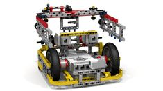 This Lego Mindstorms EV3 robot is good for FIRST Lego League (FLL) robot game…