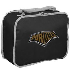 NCAA Purdue Boilermakers Lunchbreak Lunchbox by Concept 1. $12.58. Insulated PVC lining. Durable 70D Nylon. Printed league  logo onFront. Lead Free. high-density screenprinted team logo. The lunchbreak is a cool and handy lunchbox for school or work that shows your favorite collegiate team's logo.. Save 16% Off!