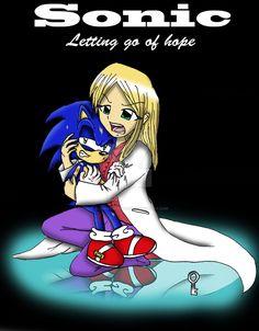 Sonic letting go of hope fanart by bluerosefantasy on DeviantArt