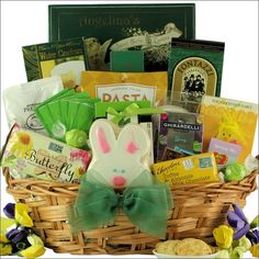 Easter gift baskets special bunny easter gift basket st gift easter gift baskets special bunny easter gift basket st gift baskets etc easter gift ideas pinterest easter gift baskets bunny and easter negle Choice Image