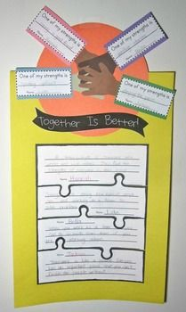 Habit 6: Together is Better (how individual strengths contribute to the group's overall success)