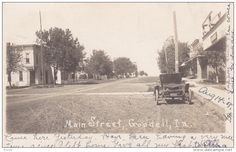 RP: Main Street , GOODELL , Iowa , PU-1914