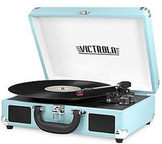 bluetooth technology The Victrola portable suitcase turntable from RC Willey is an absolute classic and loaded with features. Includes built-in Bluetooth technology to wirelessly Bluetooth Record Player, Portable Record Player, Vinyl Record Player, Record Players, Vinyl Records, Victrola Record Player, Best Record Player, Record Record, Vinyl Music