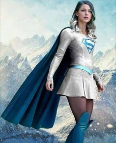 The Incredibly Beautiful & Talented Melissa Benoist As Supergirl.