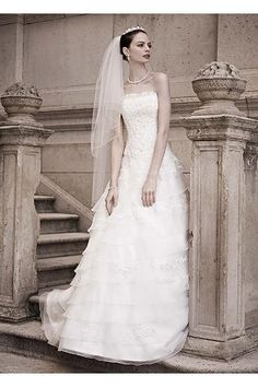 Tiered Ball Gown with Beaded Lace Appliques AI14010299