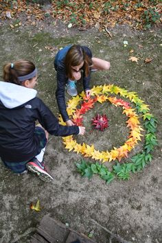 The Calvert Canvas: Adventures in Middle School Art! After Andy Goldsworthy
