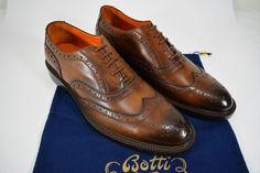 3578440caff850 BOTTI scarpa uomo FRANCESINA CLASSICA pelle VITELLO spazzolato 10(UK)-44(IT