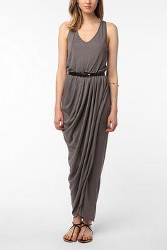 Urban Outfitters - ERA By Kymerah Draped Tulip Maxi Dress