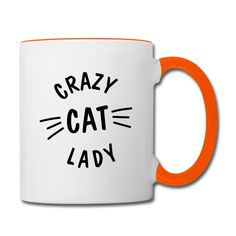 Crazy Cat Lady, Crazy Cats, Mugs, Style, Cat T Shirt, Ideas For Christmas, Products, Swag, Tumblers