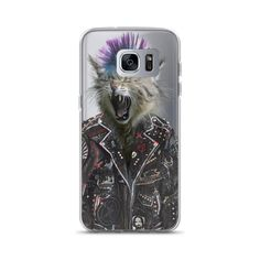"""PUNK CAT"" Samsung Case"