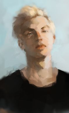 "ipaintjily: "" Portrait of Scorpius Malfoy ref """