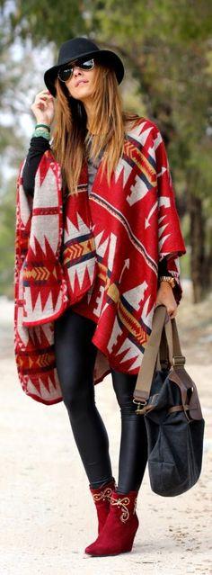 Navajo Inspired Style http://likeprincessbykuka.com/blog/navajo/