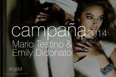 Campaña 2014: Mario Testino  EMily Didonato / Joyería Suárez