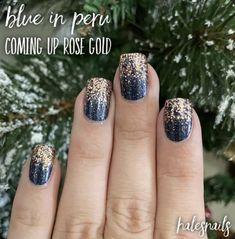 Nail Polish Stickers, Nail Polish Art, Nail Polish Strips, Sns Nails, Cute Nails, Pretty Nails, Manicures, Nail Color Combos, Nail Colors