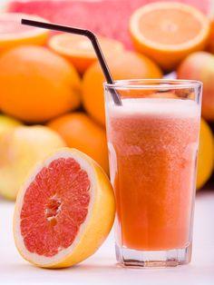 Brugnon juice, pink grapefruit and orange home (with mixer) Ingredients . Fruit Drinks, Fruit Snacks, Beverages, Fruit Blender, Mixer, Fruit Party, Fruit Salad Recipes, Grapefruit Juice, Best Fruits