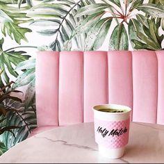 millennial pink coffee shop millennial pink holy matcha tea